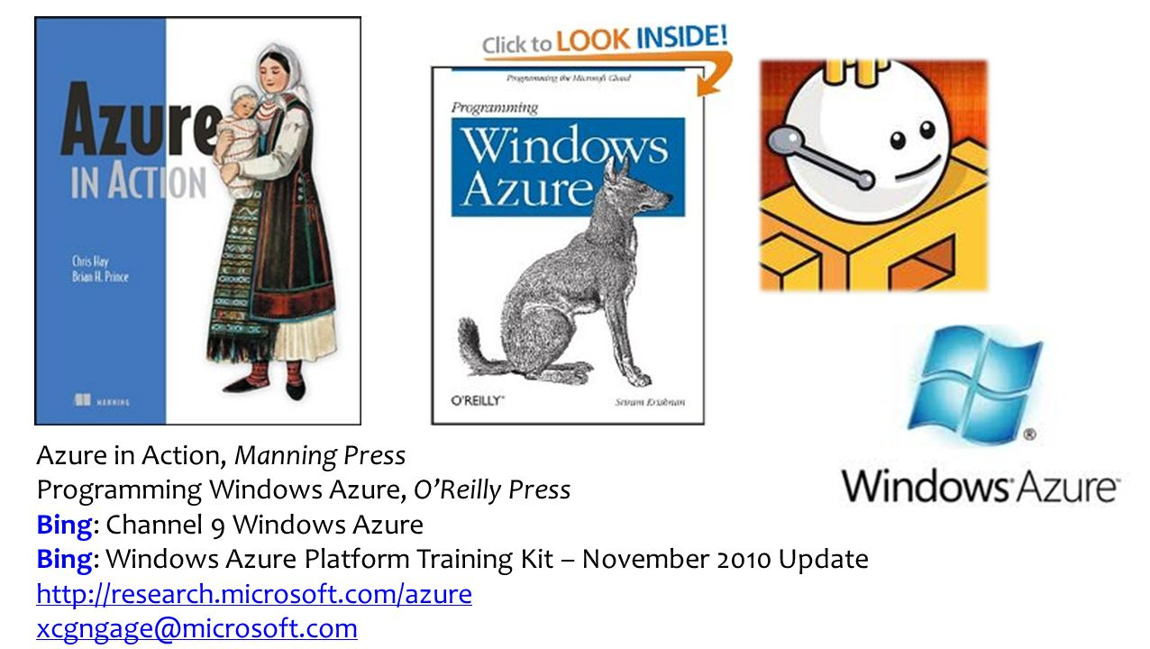 Azure in Action, Manning Press