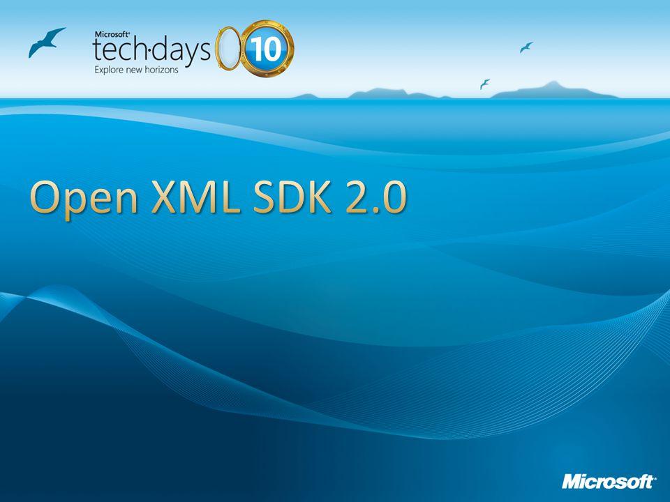 Open XML SDK 2.0