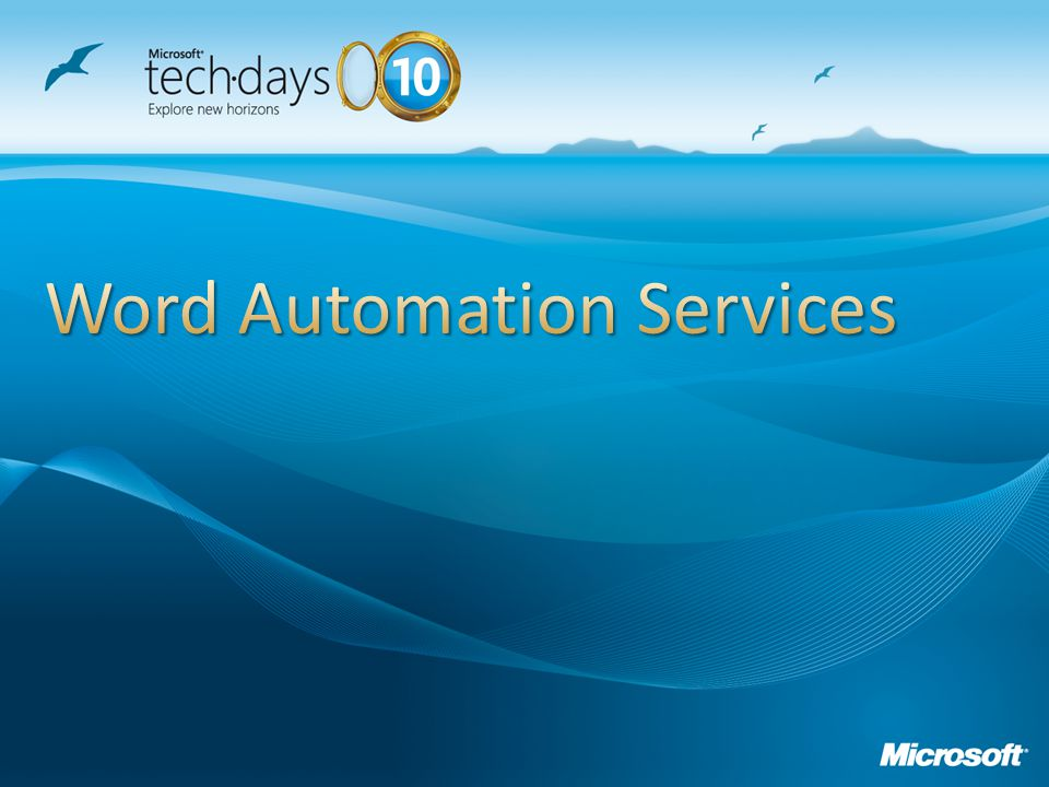 Word Automation Services