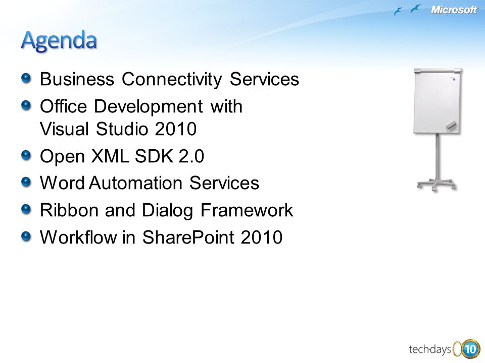 Agenda Business Connectivity Services