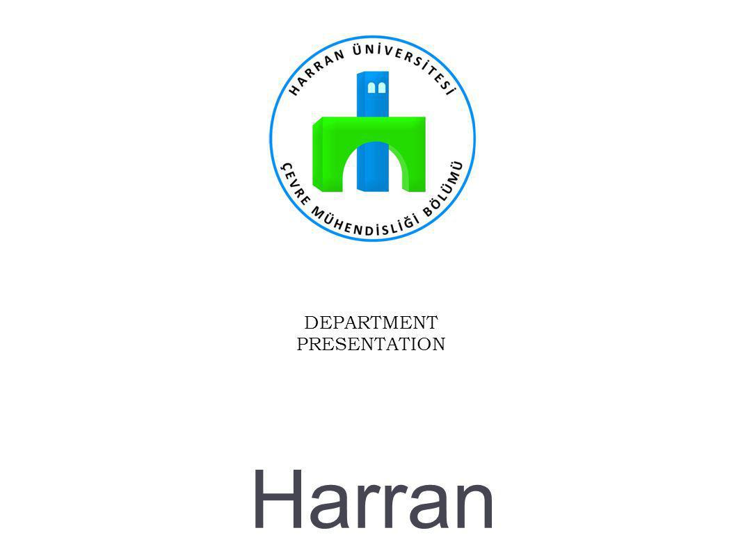 Harran University Environmental Engineering Department, 2013