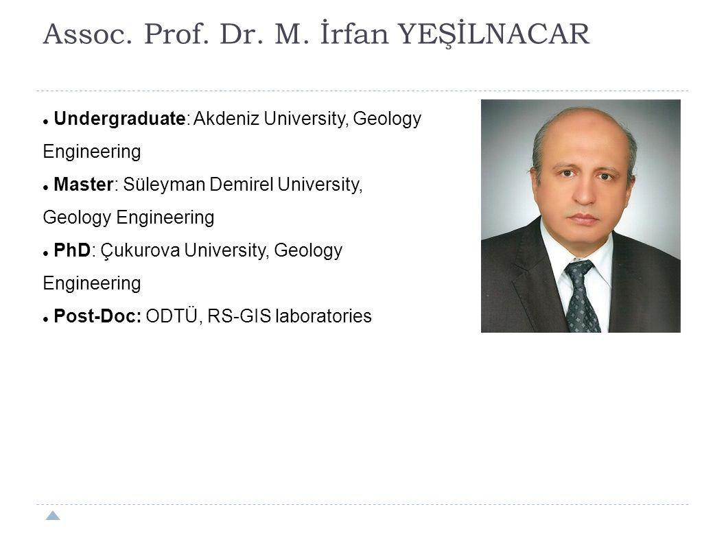 Assoc. Prof. Dr. M. İrfan YEŞİLNACAR