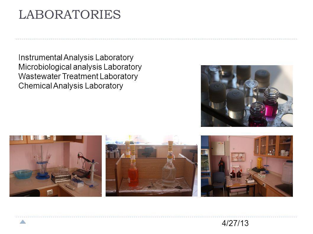 LABORATORIES Instrumental Analysis Laboratory
