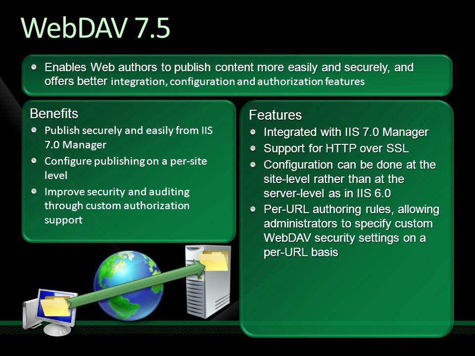 WebDAV 7.5 Benefits Features