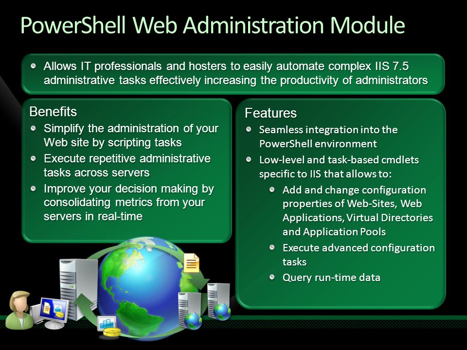PowerShell Web Administration Module