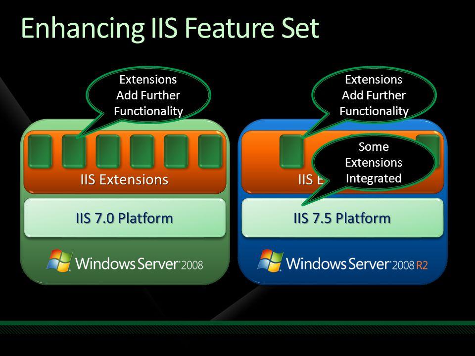 Enhancing IIS Feature Set