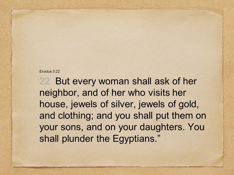 Exodus 3:22