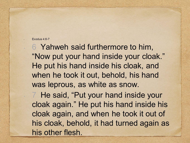 Exodus 4:6-7