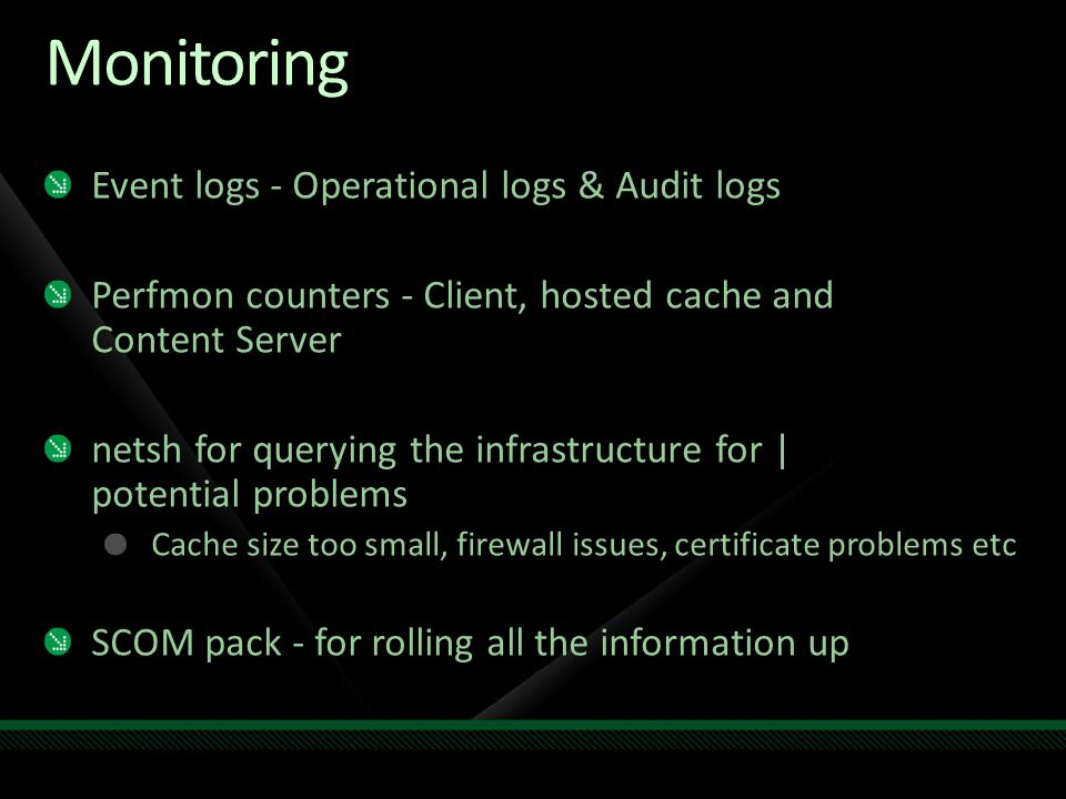 Monitoring Event logs - Operational logs & Audit logs