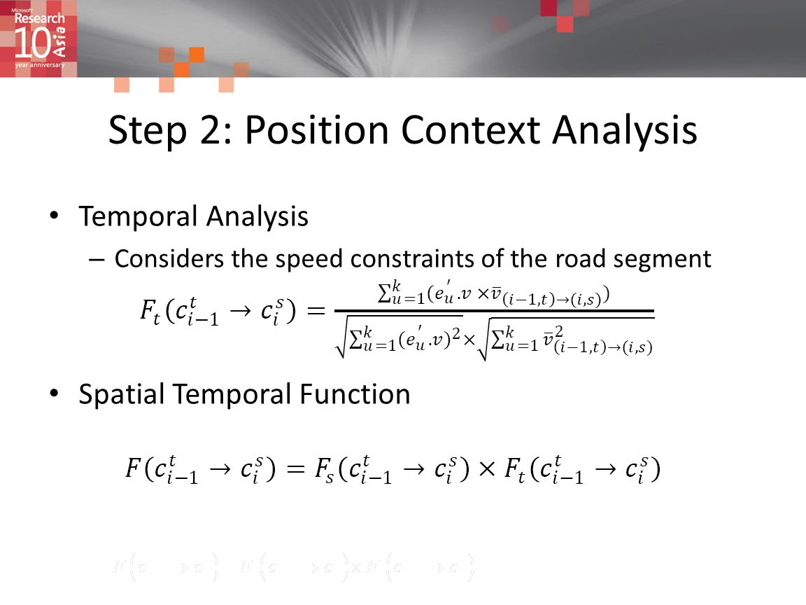 Step 2: Position Context Analysis