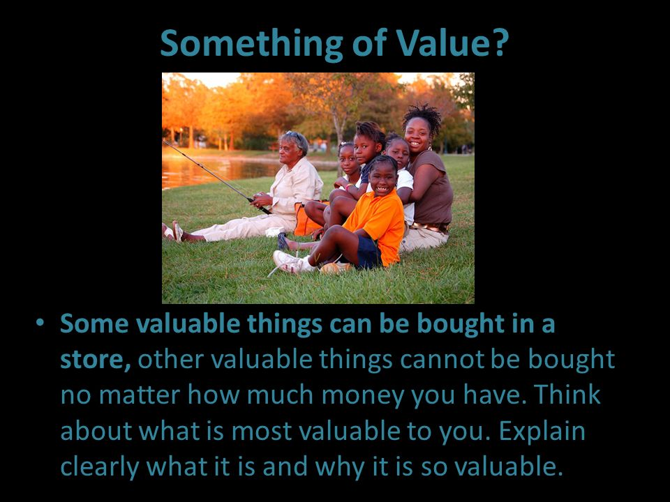 Something of Value