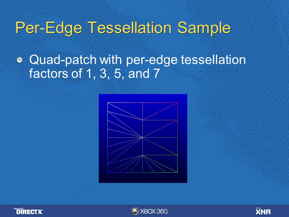 Per-Edge Tessellation Sample