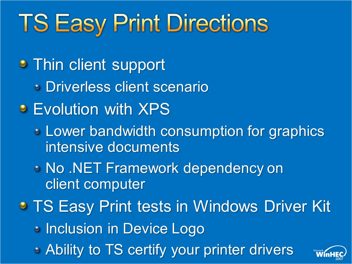 TS Easy Print Directions
