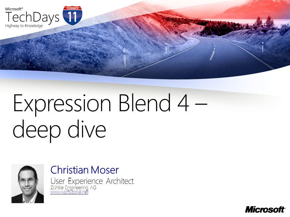 Expression Blend 4 – deep dive