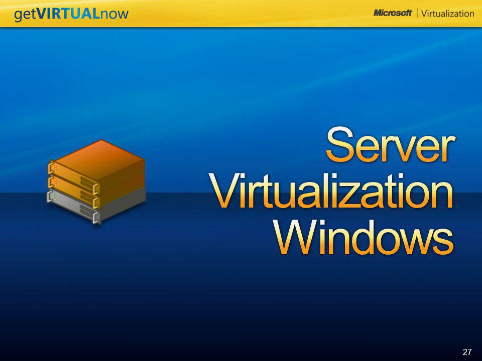 Server Virtualization Windows