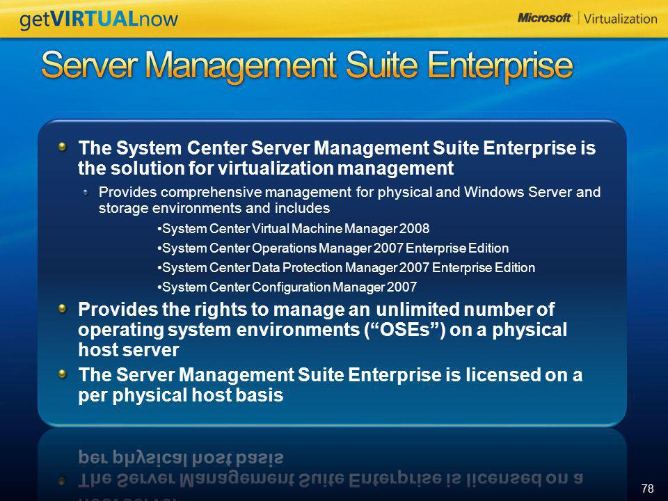 Server Management Suite Enterprise