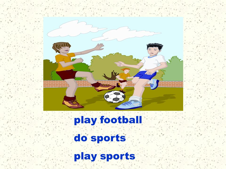 play football do sports play sports