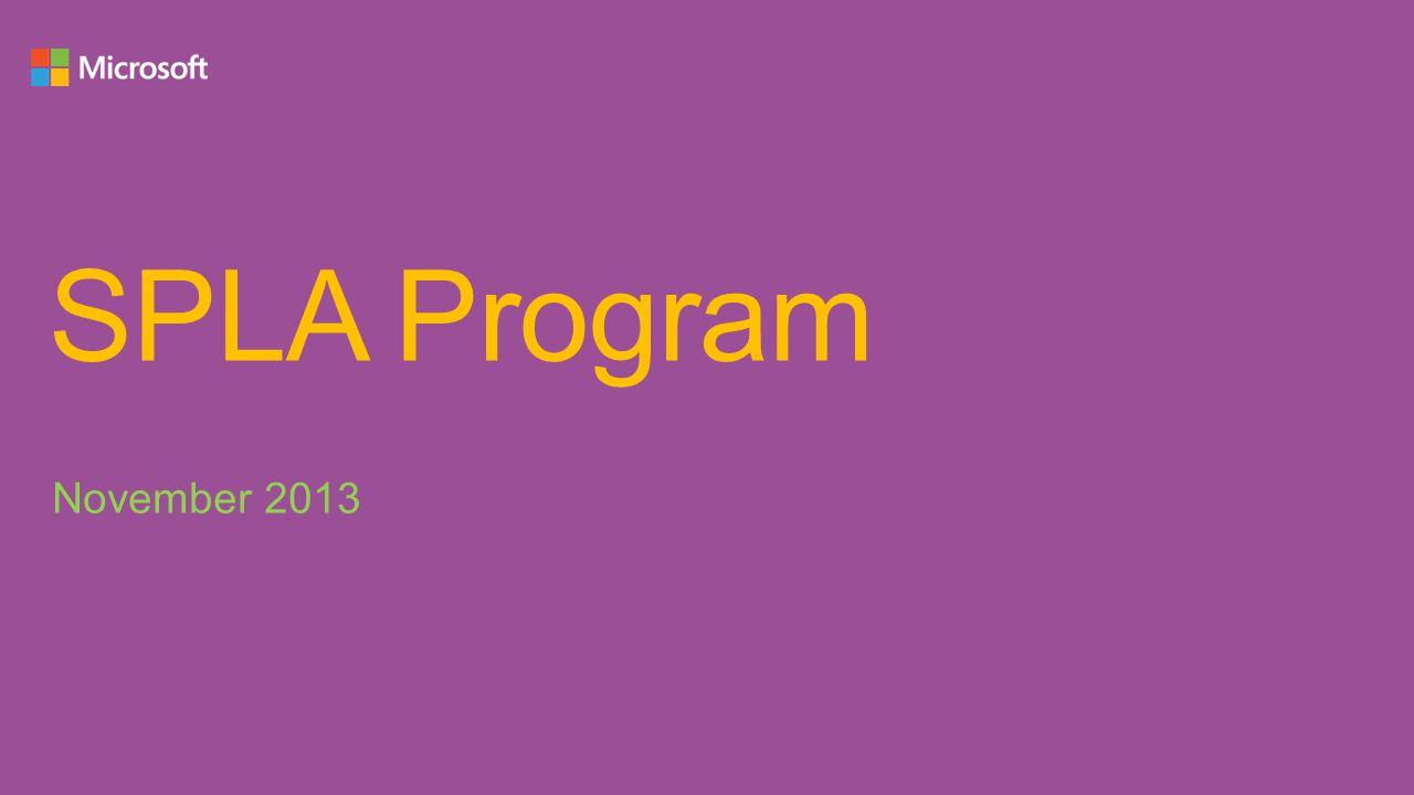 SPLA Program November 2013