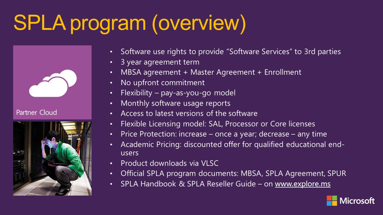 SPLA program (overview)