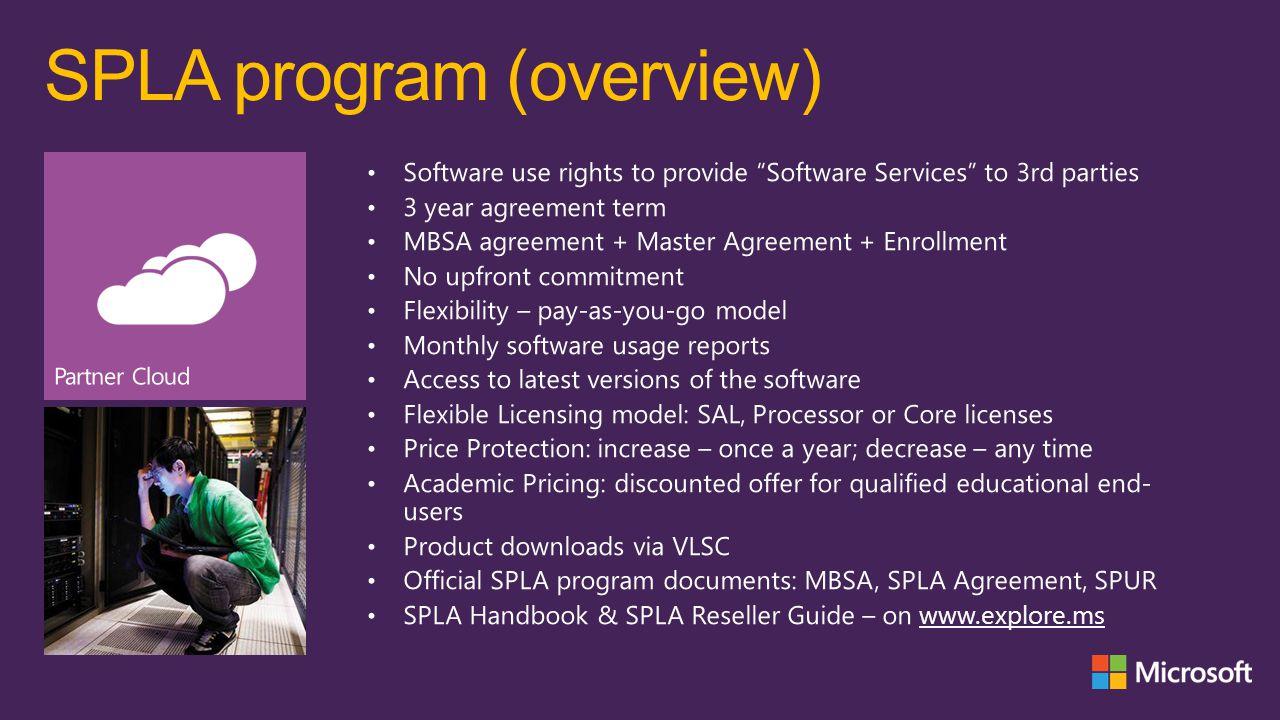 SPLA program (overview)