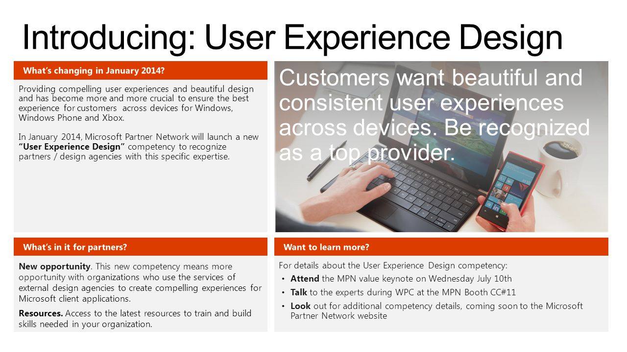 Introducing: User Experience Design