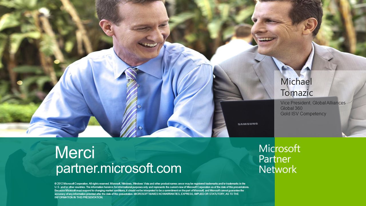 Merci partner.microsoft.com