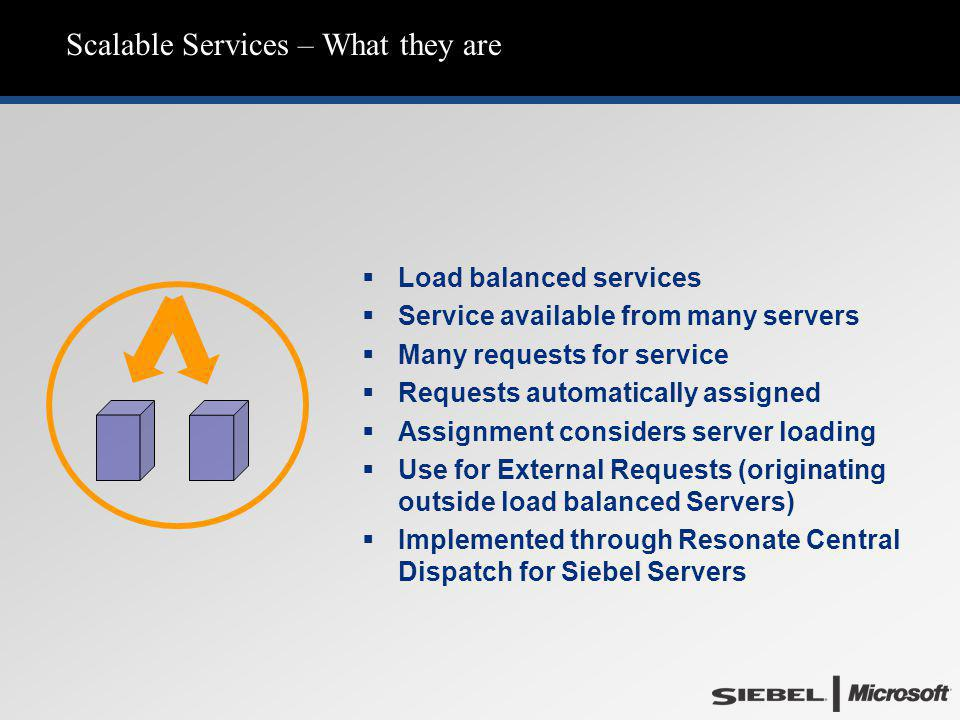 Scalable Services – What they are