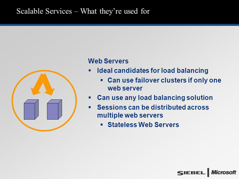 Scalable Services – What they're used for