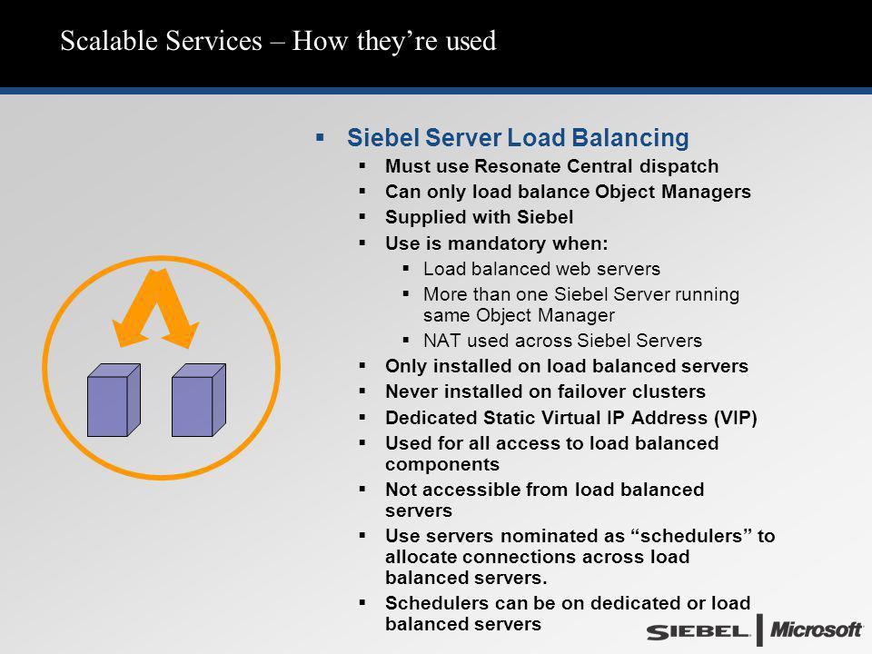 Scalable Services – How they're used