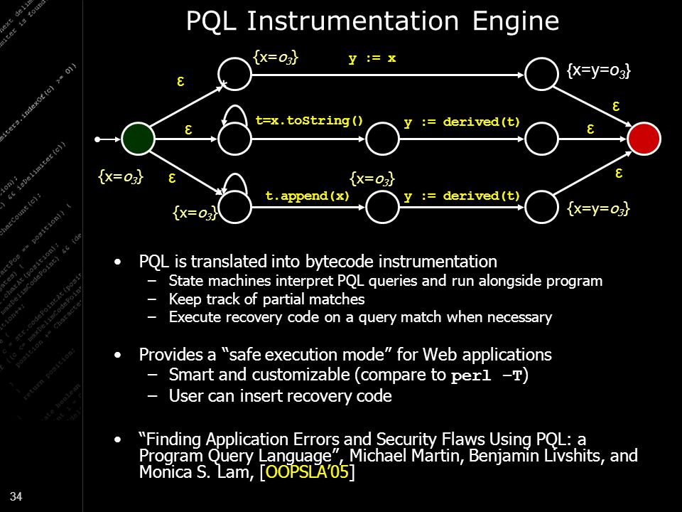PQL Instrumentation Engine