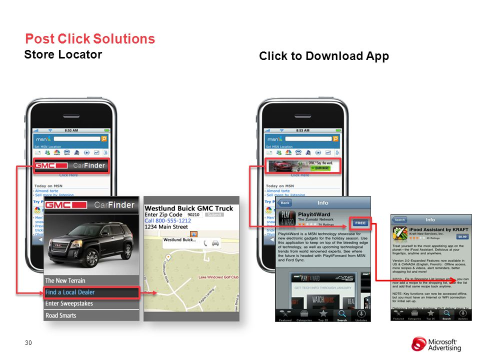 Post Click Solutions Store Locator Click to Download App 4
