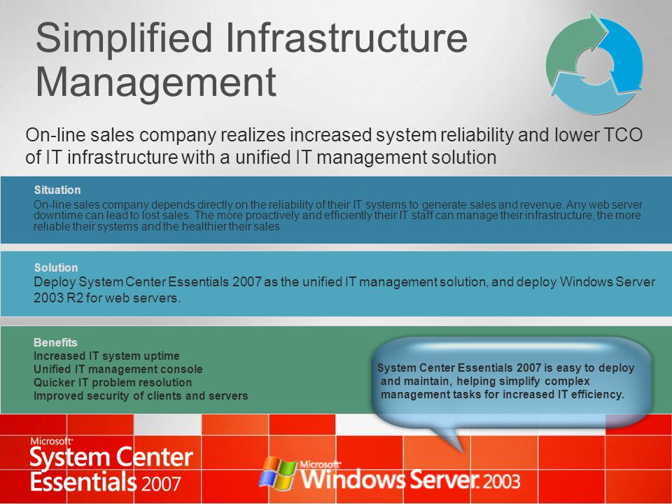 Simplified Infrastructure Management
