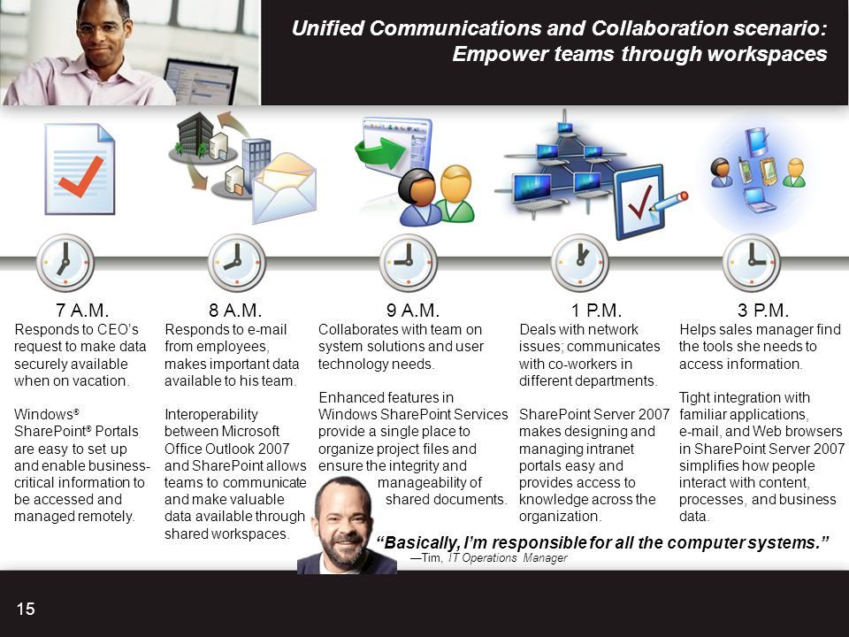 Unified Communications and Collaboration scenario: Empower teams through workspaces