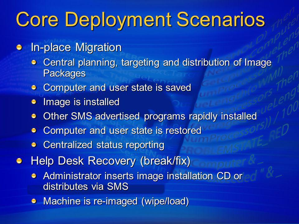 Core Deployment Scenarios