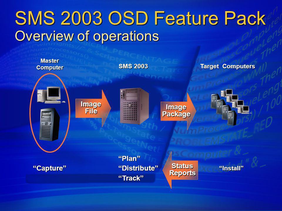 SMS 2003 OSD Feature Pack Overview of operations