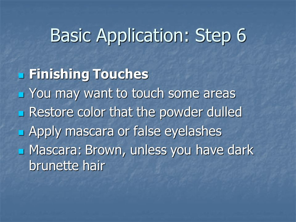 Basic Application: Step 6