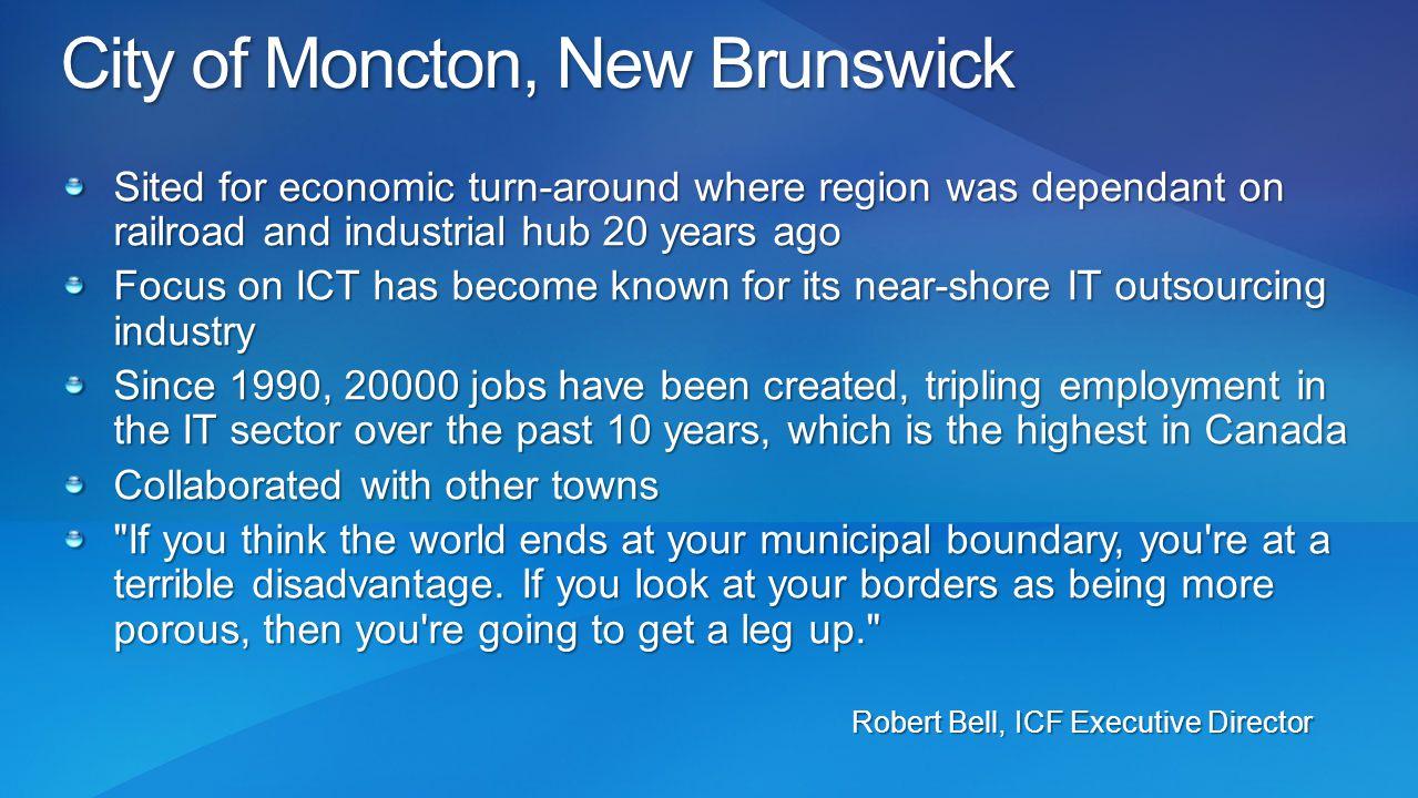 City of Moncton, New Brunswick