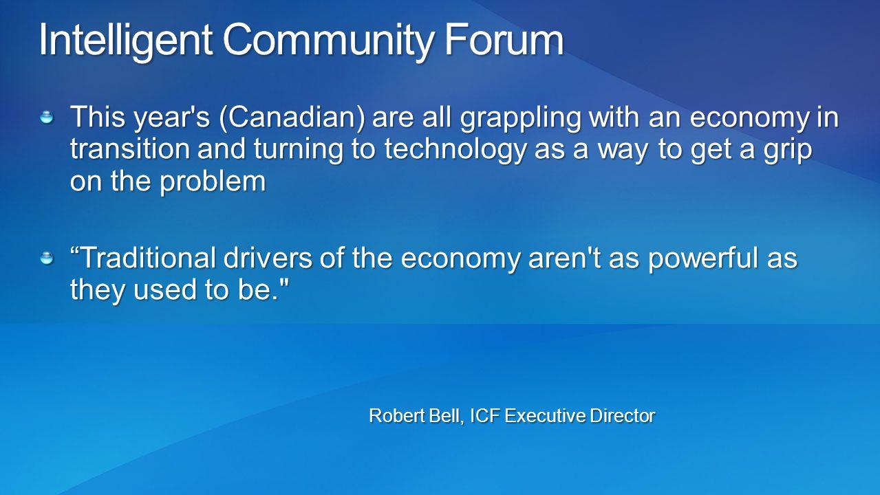 Intelligent Community Forum