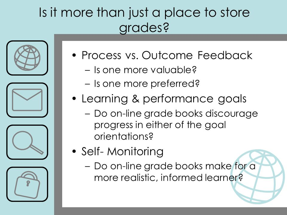 Is it more than just a place to store grades