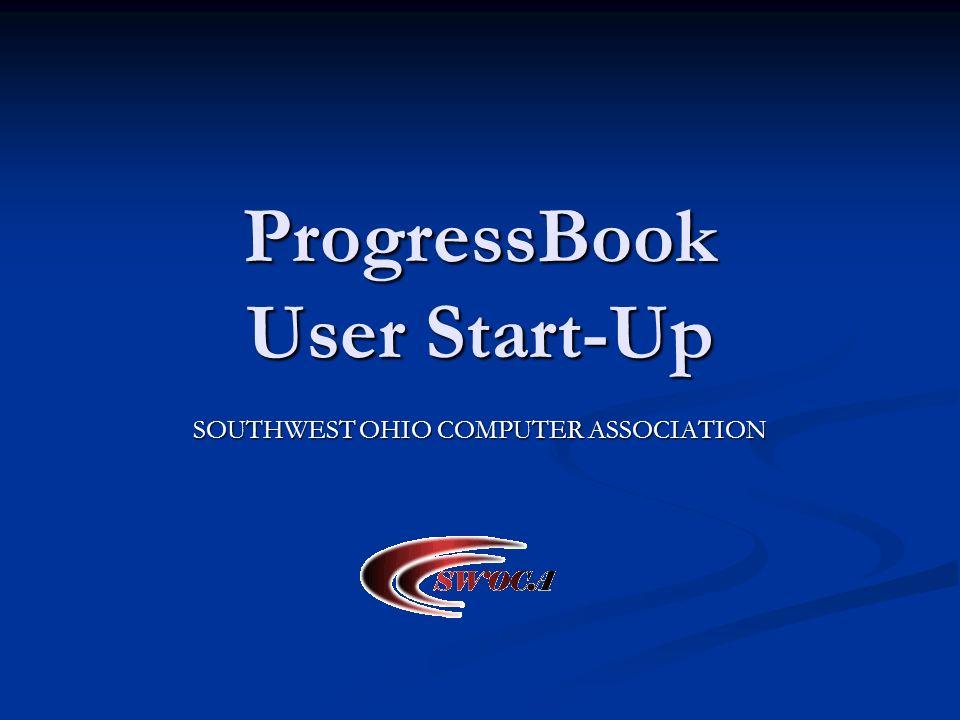 ProgressBook User Start-Up