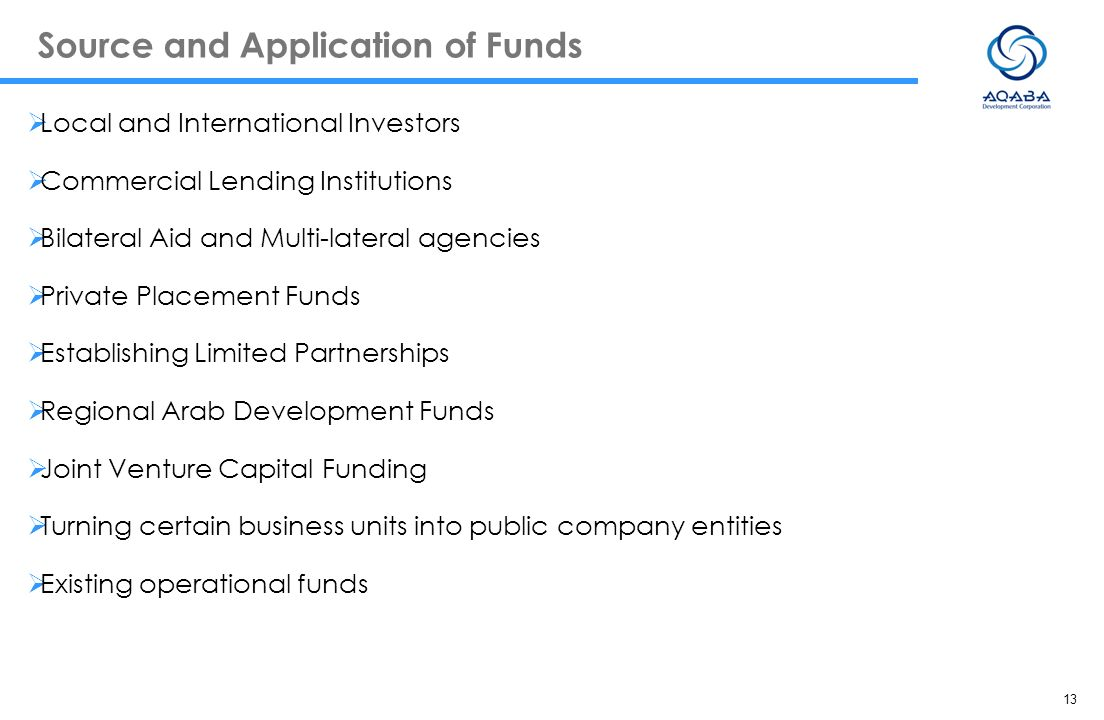 Source and Application of Funds