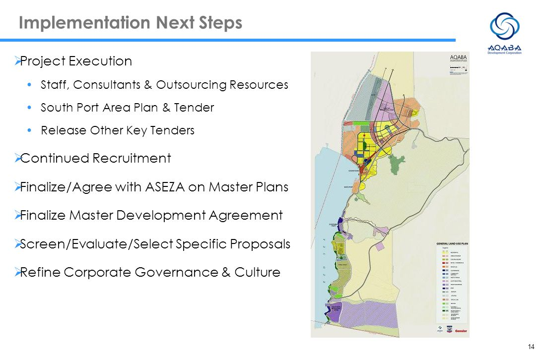 Implementation Next Steps