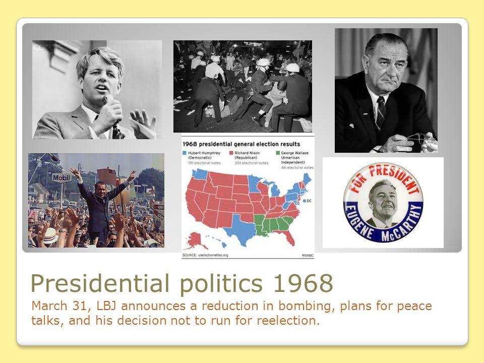 Presidential politics 1968