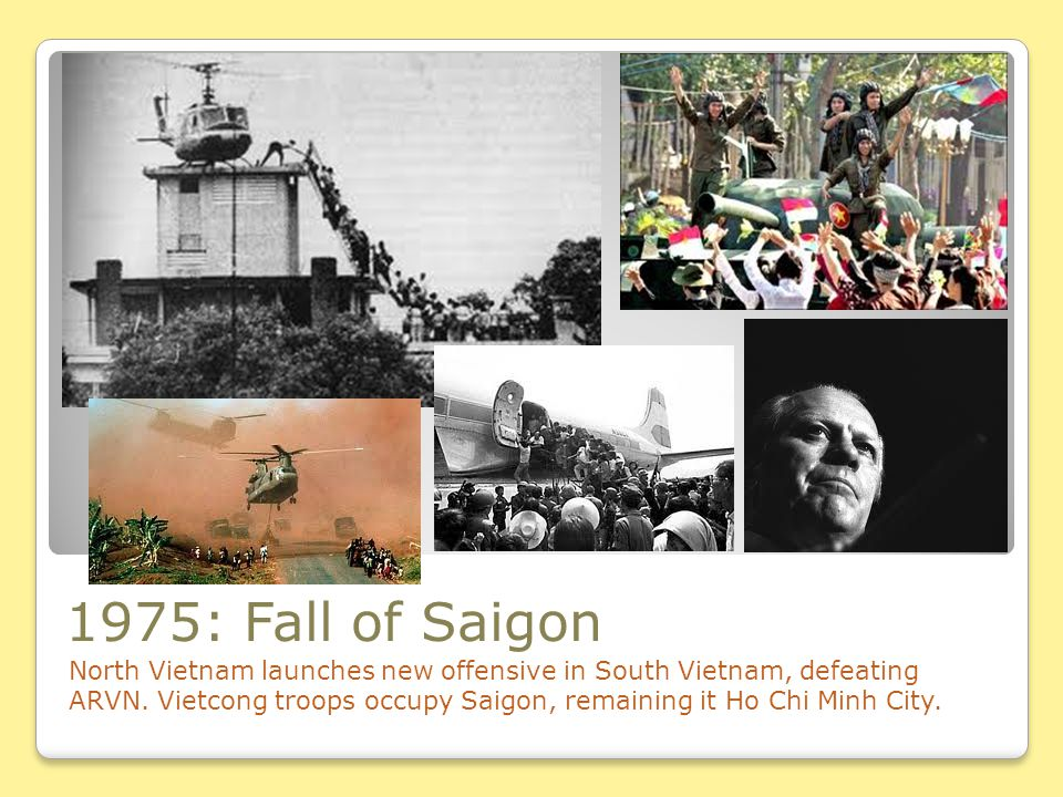 1975: Fall of Saigon