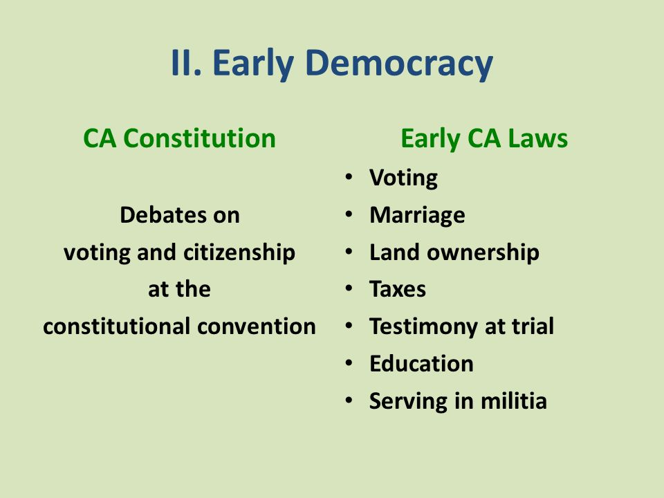 voting and citizenship constitutional convention