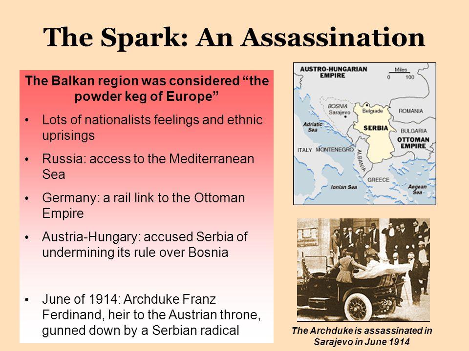 The Spark: An Assassination