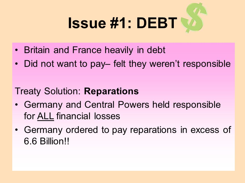 $ Issue #1: DEBT Britain and France heavily in debt