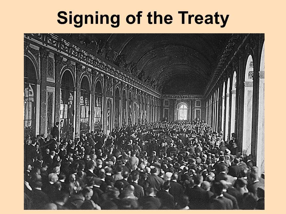 Signing of the Treaty