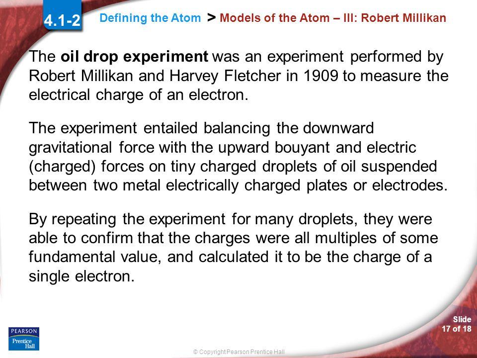 Models of the Atom – III: Robert Millikan