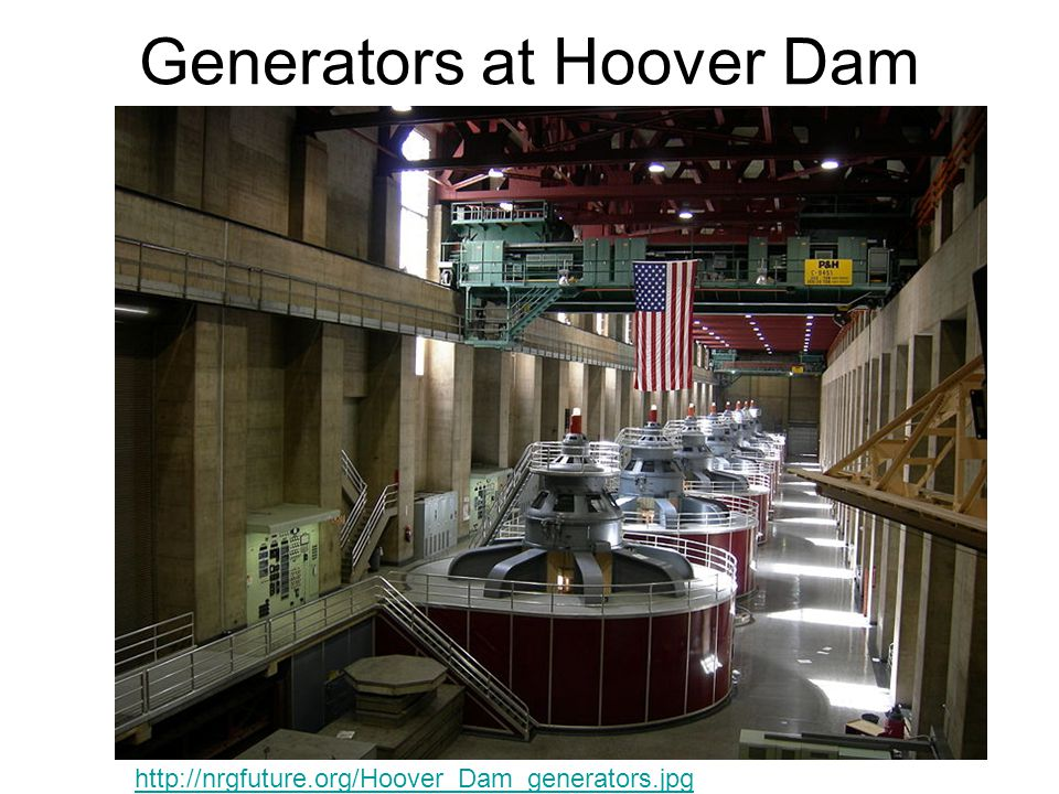 Generators at Hoover Dam